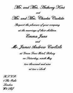 wedding invitation wording goin39 to the chapel With traditional wedding invitation wording from bride and groom