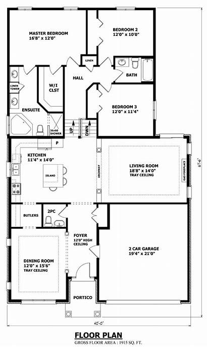 Plans Split Level Homes Plan Backsplit Before
