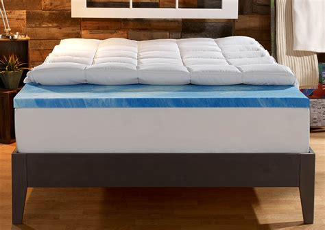 4 inch mattress topper 4 inch dual layer mattress topper sleep innovations