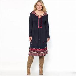 robe femme grande taille castaluna la redoute holidays oo With robes longues grandes tailles