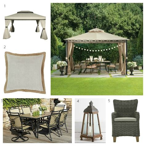 Outdoor Chair Cushions Set Of 4 by Garden Gazebo Diy Decorator