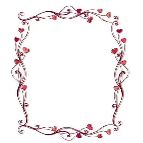 pretty picture frames flower borders for word document clipart best 1649