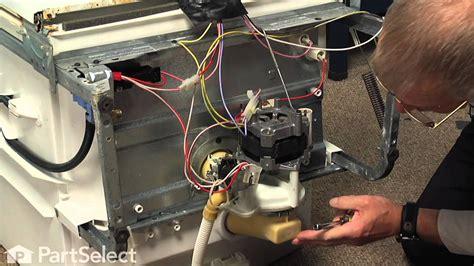 Dishwasher Repair Replacing The Motor Pump Kit