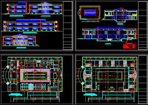 luxurious spa  dwg design section  autocad designs cad