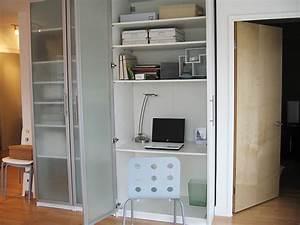 Armoire Bureau Ikea : pax wardrobes to organise your entire office ikea hackers ~ Teatrodelosmanantiales.com Idées de Décoration
