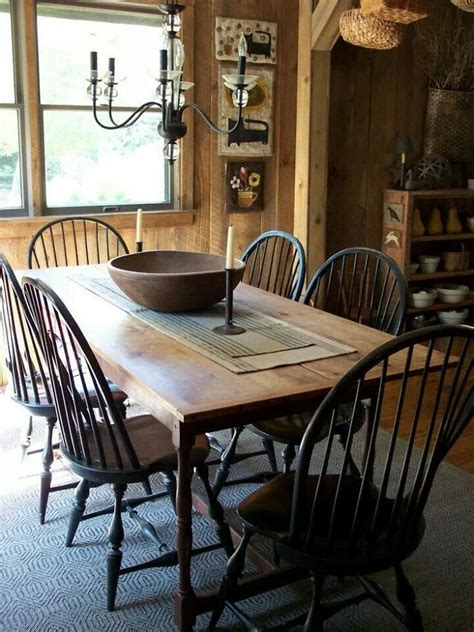 primitive country table ls 414 best images about decorating dining rooms on pinterest