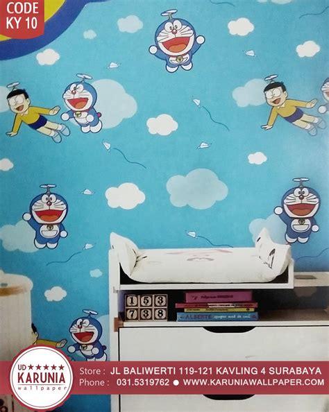 Contoh Harga Wallpaper Dinding Kamar Doraemon Terbaru Februari