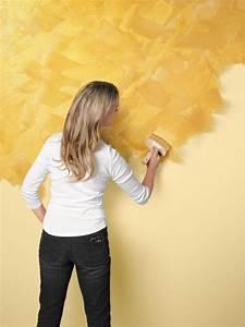 Schöner Wohnen Wandfarbe : effektfarbe strukturieren bild 3 living at home ~ Watch28wear.com Haus und Dekorationen