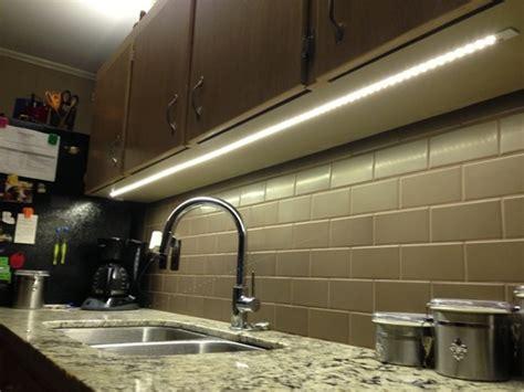 led tape light under cabinet   Home Decor