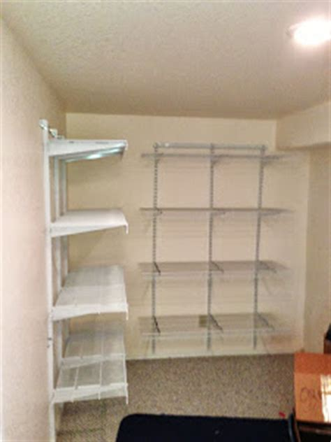 Fast Track Closet System by Elfa Vs Fasttrack Comparison Between Elfa Quot Easy Hang