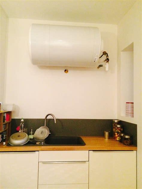 chauffe eau de cuisine habillage d 39 un chauffe eau cuisine