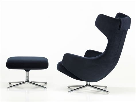limited edition grand repos lounge chair nobile velour
