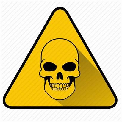 Danger Dangerous Skull Icon Peril Sign Virus