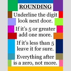 Best 25+ Rounding Ideas On Pinterest  Rounding Numbers, Math Round And Rounding Anchor Chart
