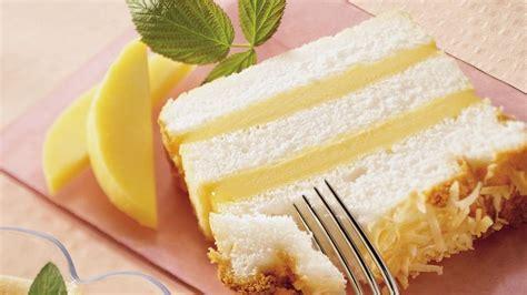 angel food mango loaf cake recipe pillsburycom