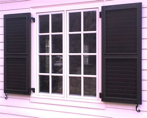 decorative outdoor house shutters home design