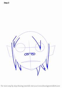 Learn How To Draw 2d From Gorillaz  Gorillaz  Step By Step