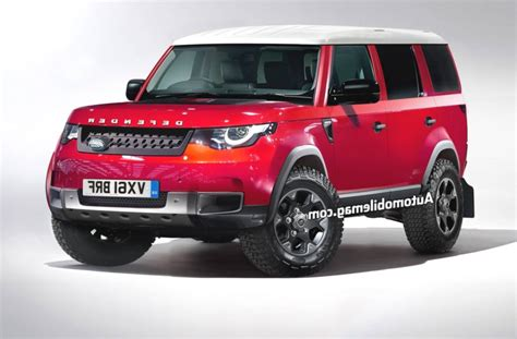 2019 Land Rover Defender by 2019 Land Rover Defender Preview Vehicle New Report