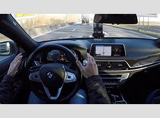 BMW Driving Assistant Plus 7Series POV Test Drive