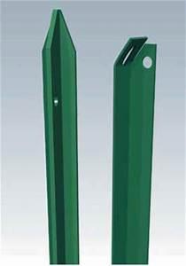 Piquet De Cloture Fer : accessoires cl tures piquets en acier galvanis ~ Dailycaller-alerts.com Idées de Décoration