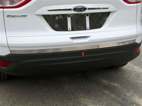 ford escape chrome tailgate deck trim