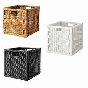 Ikea Box Kallax : ikea storage box basket bran s for kallax and expedit ebay ~ Orissabook.com Haus und Dekorationen