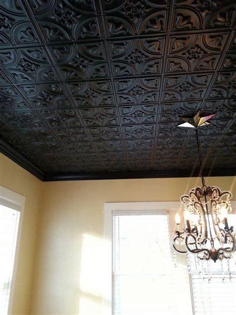 black decorative tin ceiling tiles chandelier home