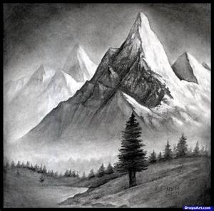 Realistic Pencil Drawings Landscape