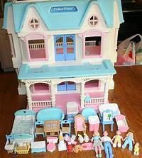 fisher price dream dollhouse Details about VINTAGE RETIRED FISHER PRICE TOY~DREAM DOLLHOUSE~LOVING FAMILY~FURNITURE~SET~LOT ...