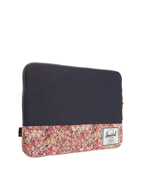 herschel supply  red seymour liberty print