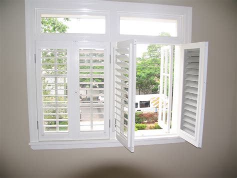 Plantation Shades by Security Plantation Shutters