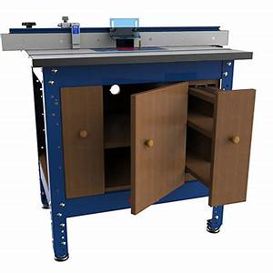 Kreg router table cabinet is one of the free plans at Kreg