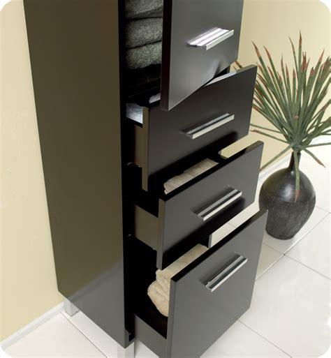 15 75 fresca fst1002es espresso bathroom linen cabinet