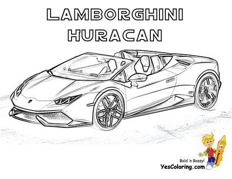 Exclusive Lamborghini Coloring Pages