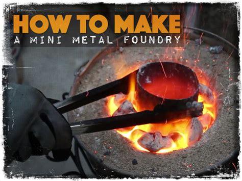 How to Make a Mini Metal Foundry - Preparing for shtf