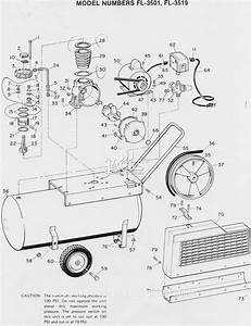Campbell Hausfeld Fl3501 Parts Diagram For Air