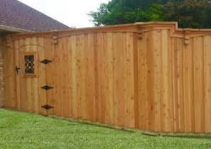 8 Foot Wood Privacy Fence