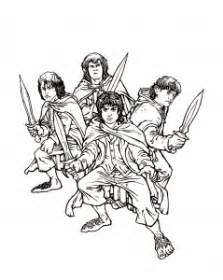 lord   ring  printable coloring pages  kids