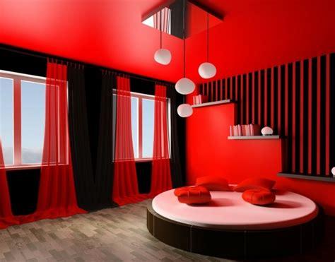 Décoration Chambre Noir Et Rouge