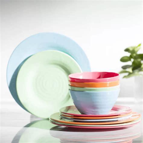 dinnerware sets melamine