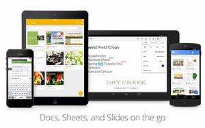 google docs sheets and slides updated with ui With google docs sheets app