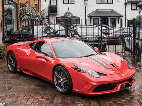 Ferrari s monza sp1 and sp2 mix 21st century tech with 1950s cool wired. 2015 Ferrari 458 458 Speciale For Sale   Car And Classic