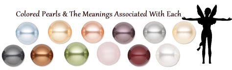 pearl color meaning pearl color meaning multi color pearl necklace meaning