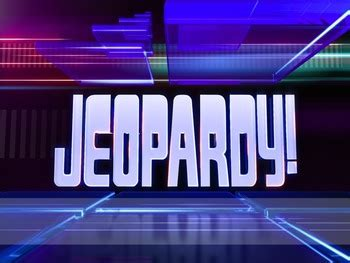 jeopardy powerpoint template jeopardy powerpoint customizable template by mike brunell