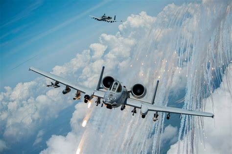 MOODY AFB A-10C WARTHOGS PAY TRIBUTE TO ORIGINAL FLYING ...