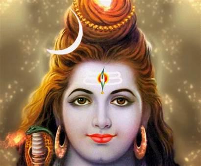 Shiva Lord God Vishnu Animation Face Maha