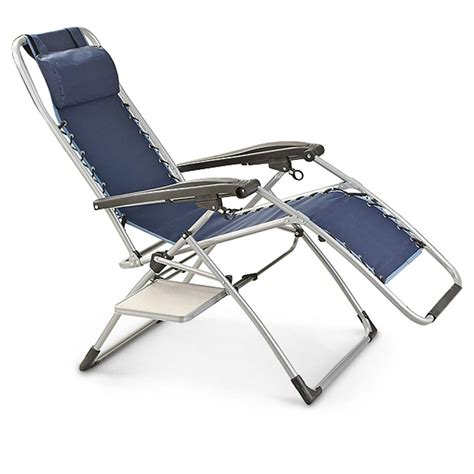 mac sports 174 anti gravity chair with side table 232468