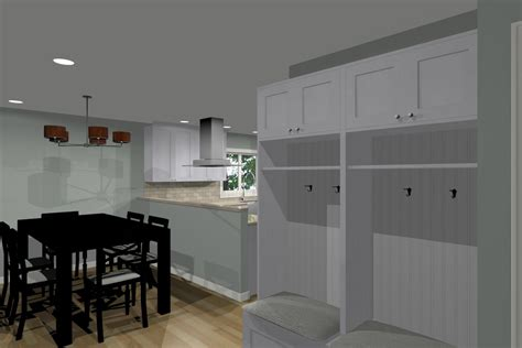 mud rooms offer  family  home