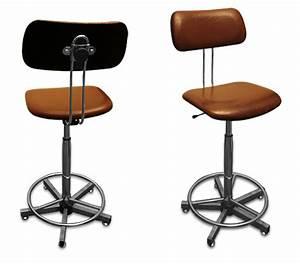 Chaise Bureau Industriel : chaise haute d atelier ~ Teatrodelosmanantiales.com Idées de Décoration