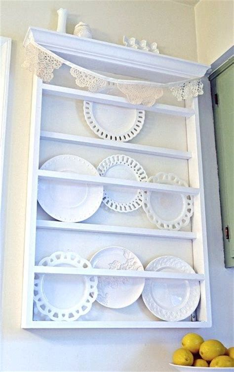 dish display rack plate rack plans diy woodworking projects plans